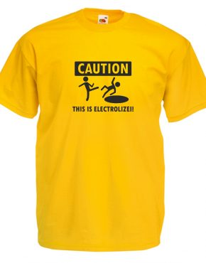 Caution galben