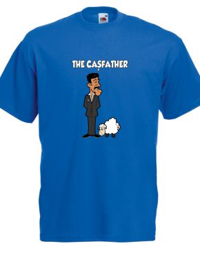 The casfather albastru