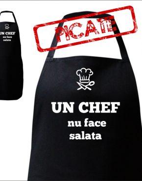 un chef nu face salata
